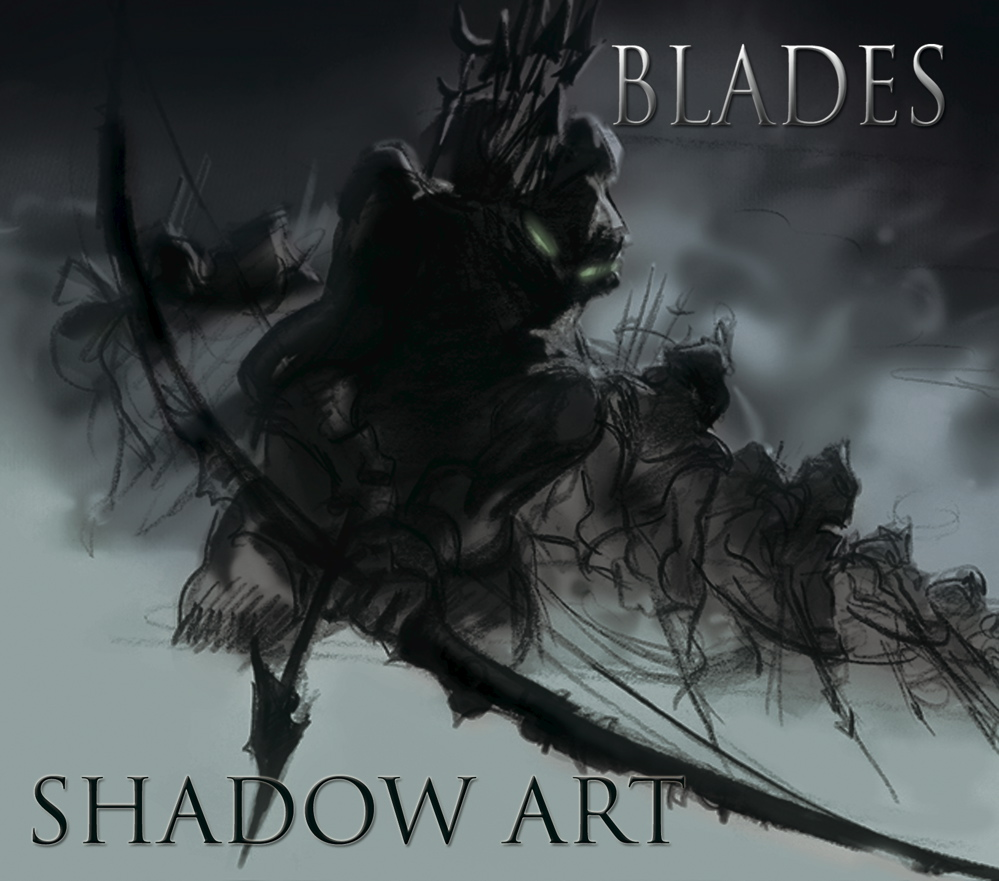 blades shadow art cd cover