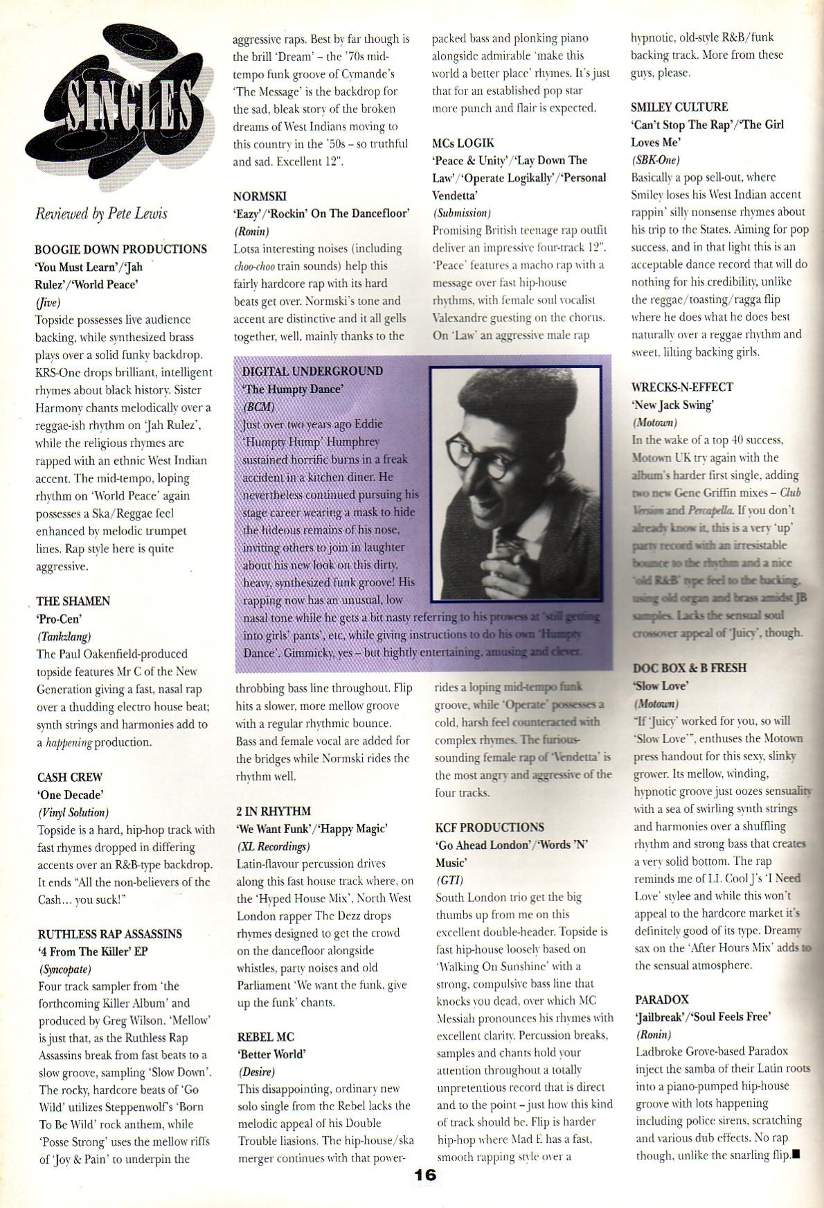 Hip Hop Connection #015 (April 1990) – Britcore