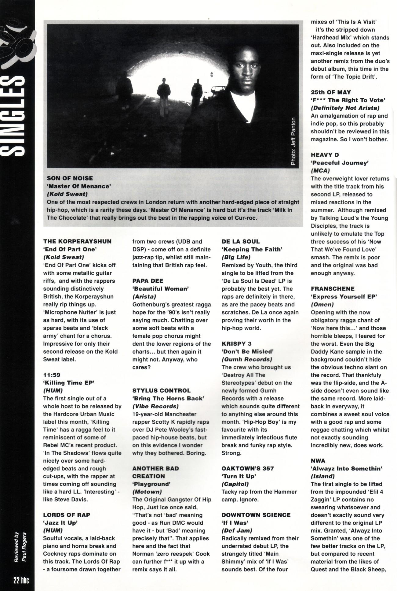 Hip Hop Connection #035 (December 1992) – Britcore